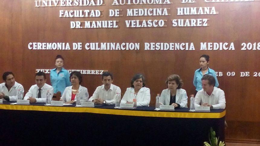 CEREMONIA DE CULMINACION RESIDENCIA MEDICA 2018